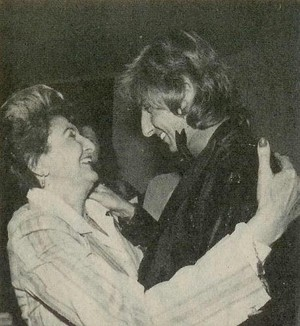 Barry And His Mother, Edna Manilow