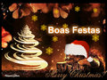 boas festas cat - christmas fan art