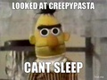 Can't sleep - creepypasta photo