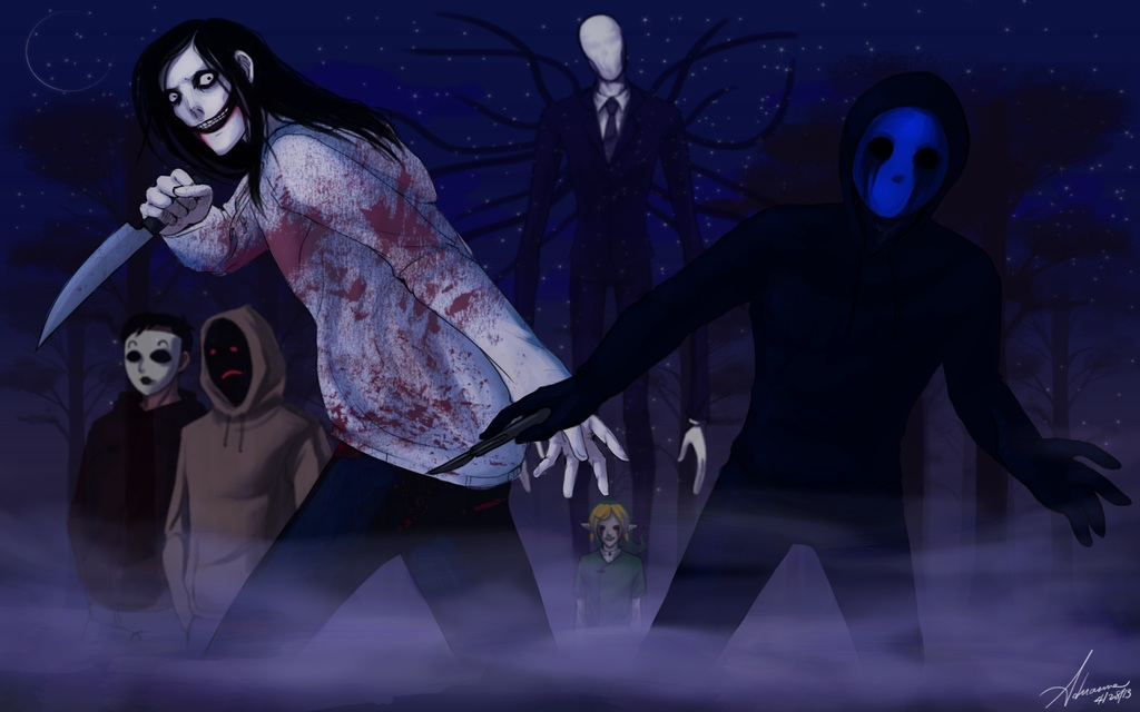CreepyPasta gang - creepypasta Photo (36102256) - Fanpop