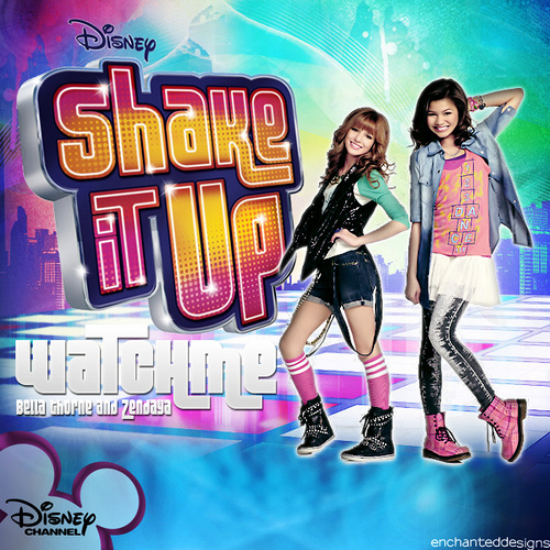 Disney Channel Best Characters Wallpaper Titled Shake It Up
