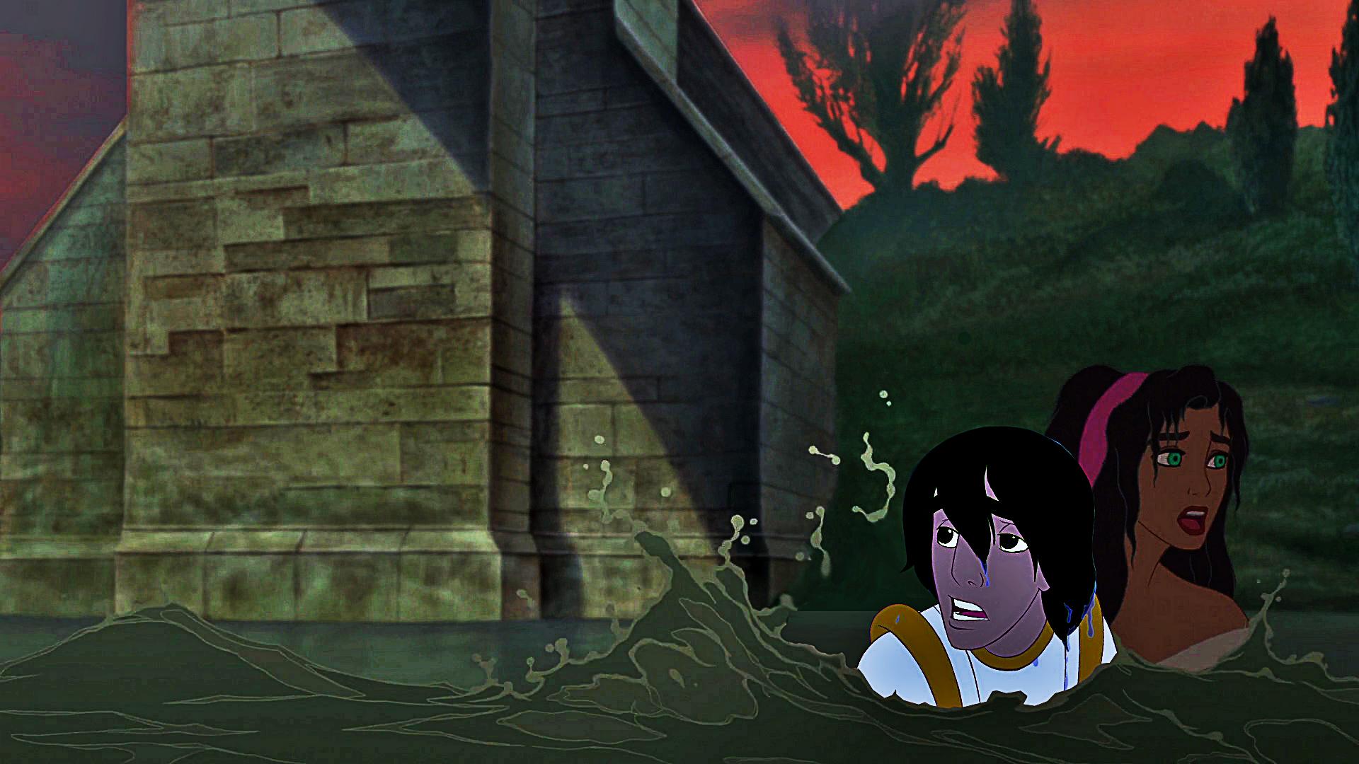 Escape -- Aladdin/Esmeralda
