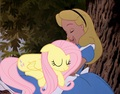 Two Friends Sleeping On A Tree - disney-crossover photo