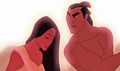 Shang and Pocahontas - disney-crossover photo