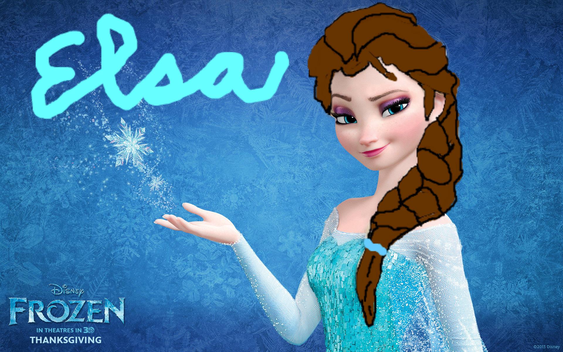 Elsa Frozen Fan Art Fanpop