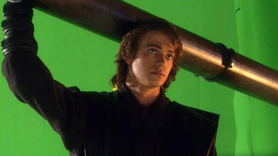 Hayden christensen as anakin sywalker images attack of the clones ep - Hayden Christensen As Anakin Sywalker Images Behind The
