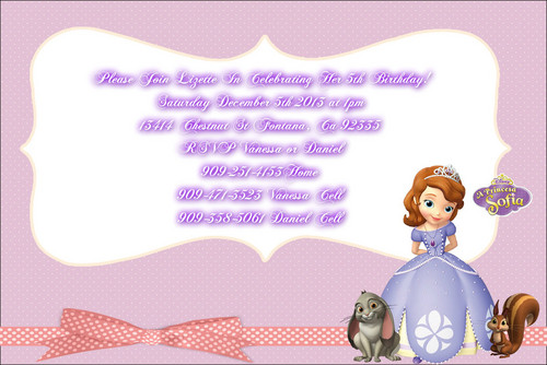 Sofia The First kertas dinding entitled lizette5