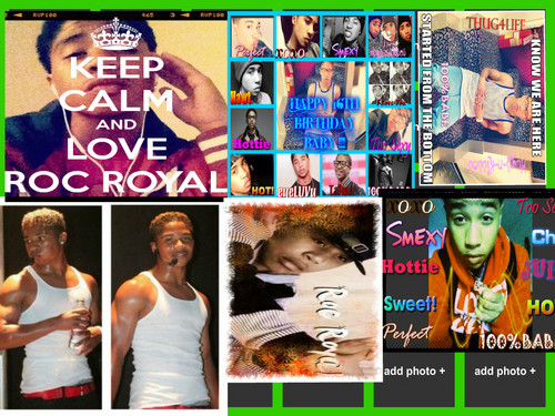 Roc Royal (Mindless Behavior) wallpaper probably with anime called miii favs