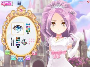 Anime girl princess