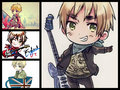 my favorite - hetalia-england fan art