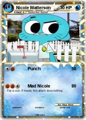 Pokemon Card Water Type