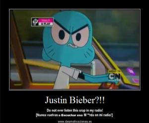 Nicole hates Justin Bieber!