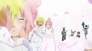 NaruSaku wedding Naruto and Sakura t Naruto Sakura
