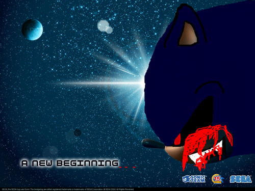 Sonic X wallpaper called sonic.exe_A NeW BeGiNnInG