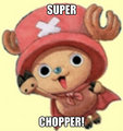 superhero chopper - one-piece fan art