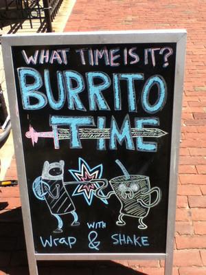 burrito না Time