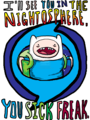 I'll see you in the Nightosphere - adventure-time-with-finn-and-jake fan art
