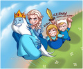 ELSA!      - adventure-time-with-finn-and-jake fan art