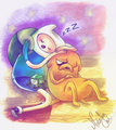 Rest        - adventure-time-with-finn-and-jake fan art