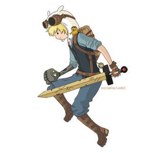 Finn(steampunk armor)