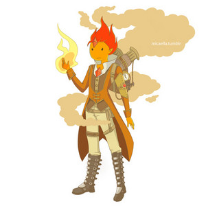 Flame Prince(steampunk armor)