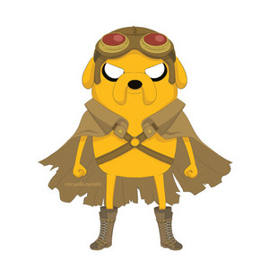 Jake(steampunk armor)