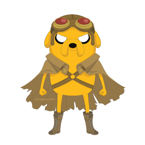 Adventure Time With Finn and Jake wallpaper titled Jake(steampunk armor)