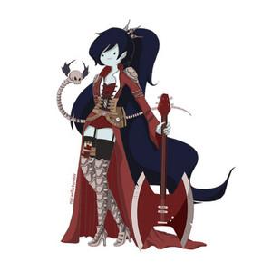 Marceline(steampunk armor)