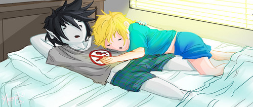 Adventure Time hình nền probably with anime entitled another finn Yaoi