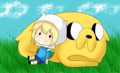 QTPA2T Chibis ;3 - adventure-time-with-finn-and-jake fan art