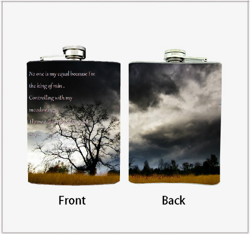Alkaline Trio wallpaper called Alkaline Trio This is Getting Over You Flask