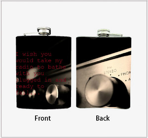 Alkaline Trio Radio Flask