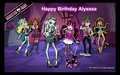 Alyssa's B-day - monster-high fan art