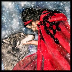 Amy Lee winter wolpeyper
