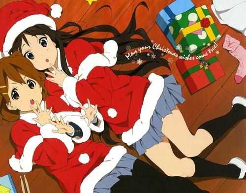 anime Debate achtergrond called K-ON Christmas (Debate vraag 12