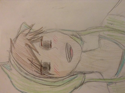 Anime Drawing Hintergrund entitled Me in Anime form