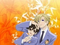 Haruhi and Tamaki - anime wallpaper
