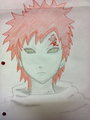 Gaara of the sand - anime fan art