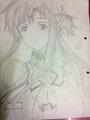 Asuna Yuuki - anime fan art