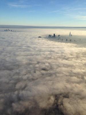 लंडन in the fog