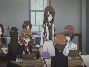 Teacher and the Students