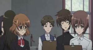 Kouichi Talks to the Classmates