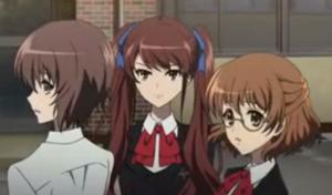 Yuuya, Izumi, and Yukari