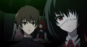 Mei and Kouichi Observe the Doll