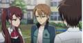 Izumi Glares at Naoya