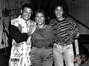 Two queens! Whitney and Aretha