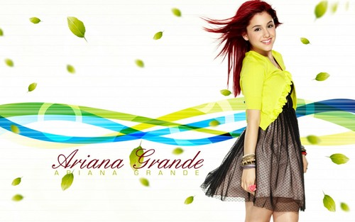ariana grande fondo de pantalla probably with a chemise called Ariana Grande