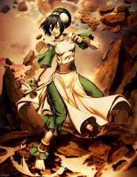 Avatar: The Last Airbender پیپر وال possibly with عملی حکمت entitled Toph Beei Fong پرستار Art