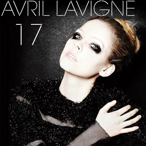 Avril Lavigne wallpaper possibly containing a sign, an outerwear, and a portrait entitled Avril Lavigne - 17