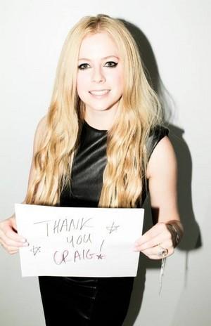 Avril Lavigne Prizeo